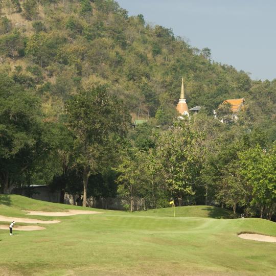 Golfing in Hua Hin
