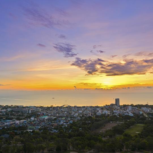 Sunset from Hin Lek Fai Hill