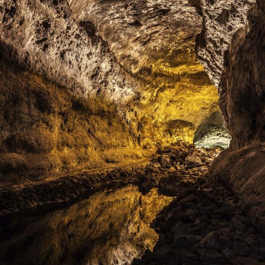 Volcanic caves of São Vicente