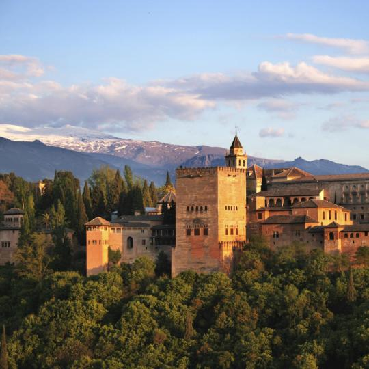 Views of the Alhambra from the St Nicholas Viewpoint