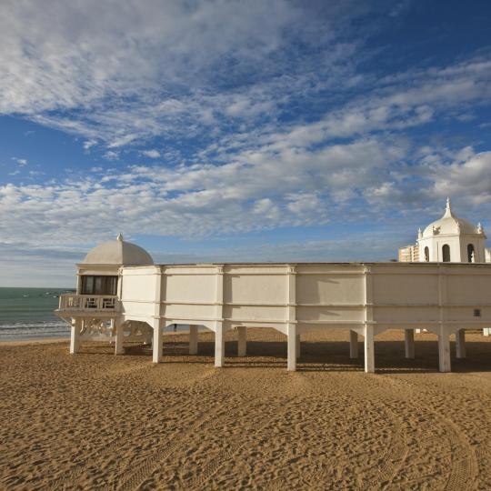 Playa de Caleta de Cádiz