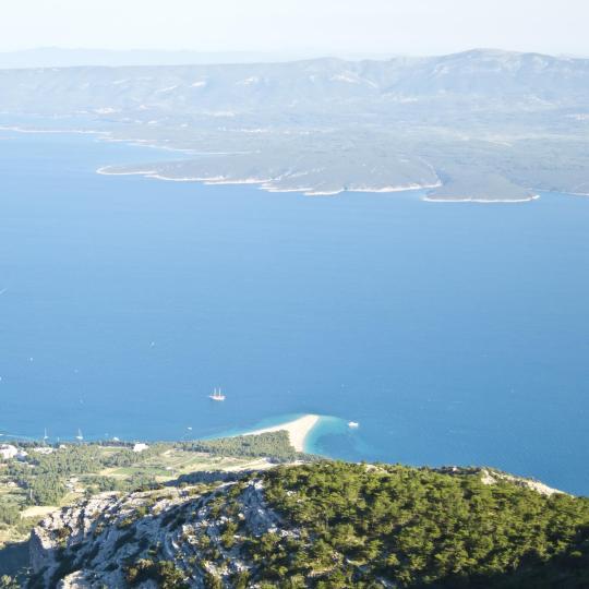 Magnificent views from Vidova Gora Hill