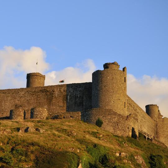 Wales' historic castles