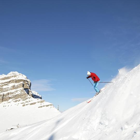 The Madonna di Campiglio ski paradise