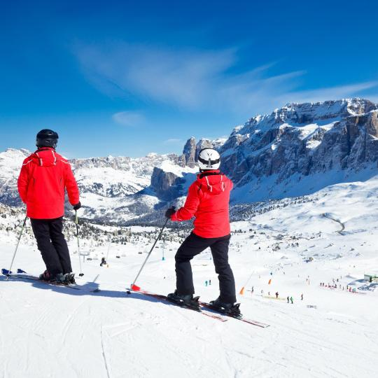 The Sella Ronda ski circuit
