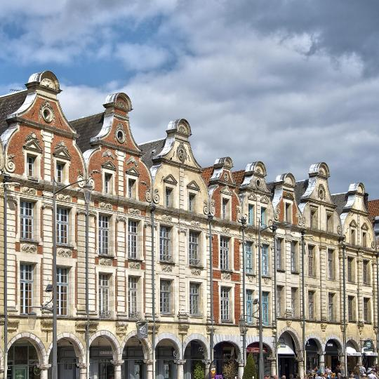 Architectural marvels in Arras