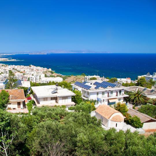 Panoramic views from Venizelos Graves