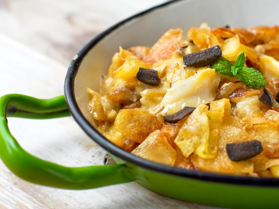 Una mezcla de pescado y sabores para mantener a raya el hambre.