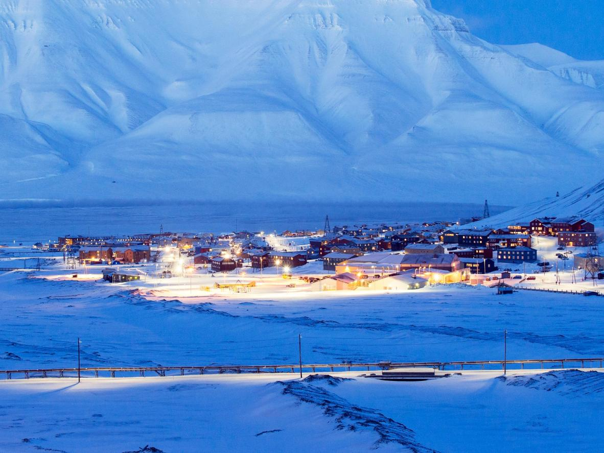 If a white Christmas is what you're after, Longyearbyen is a must-visit