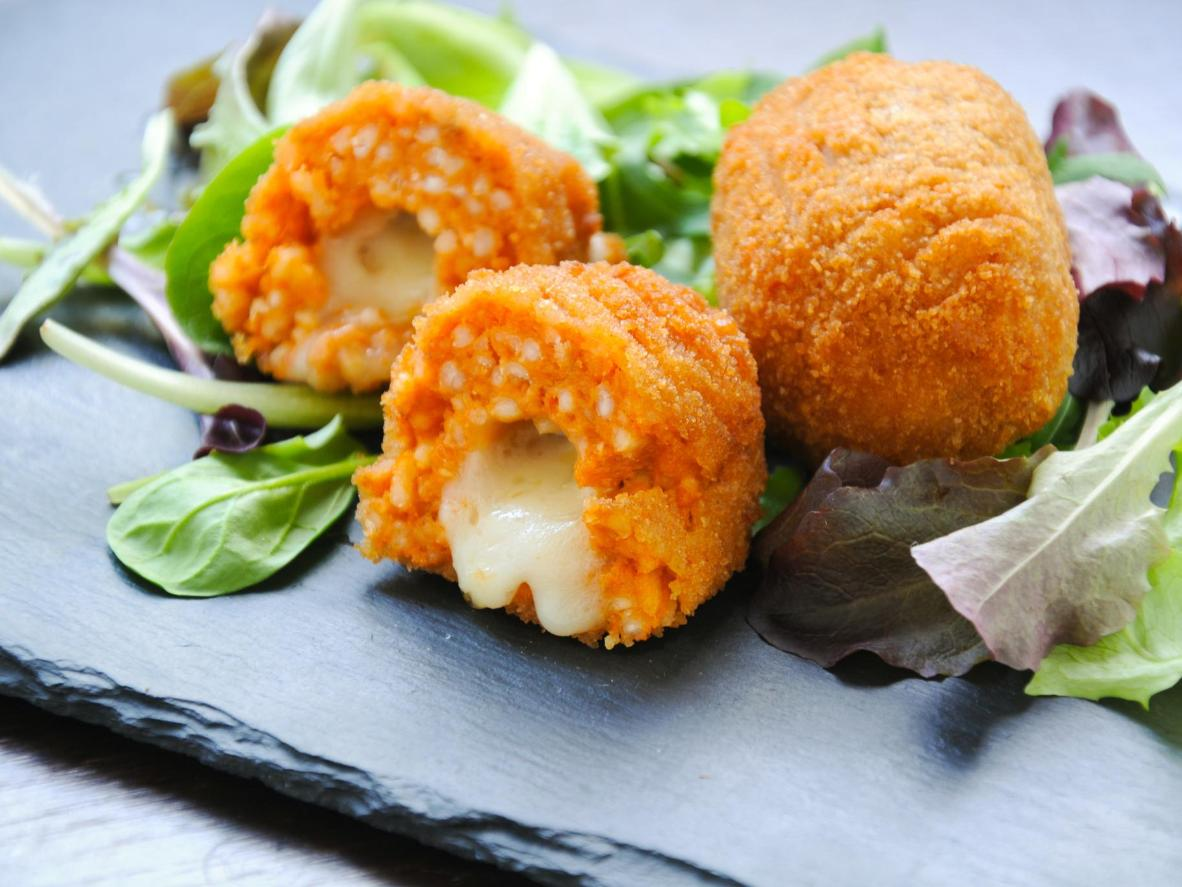 A savoury, cheese-filled street food favourite