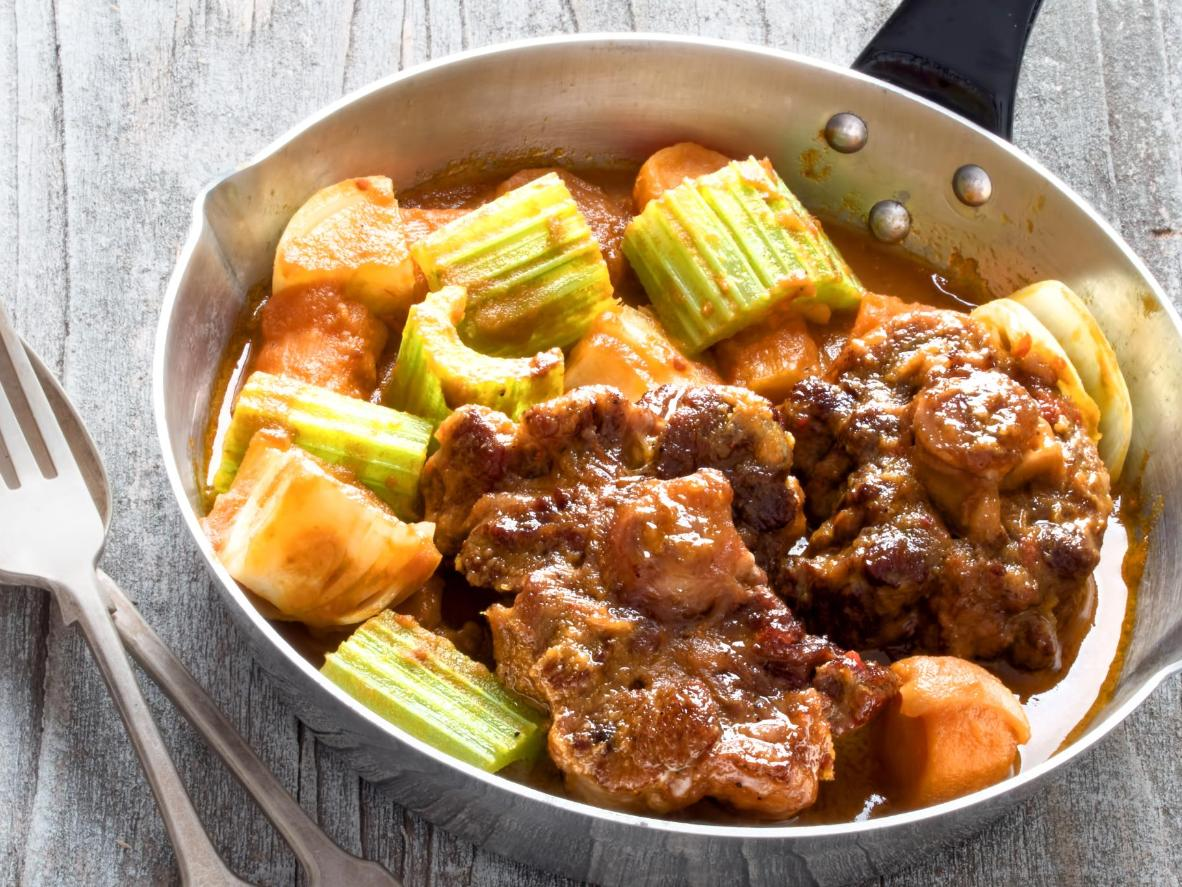 Stewed oxtail that's rich in heritage and flavour