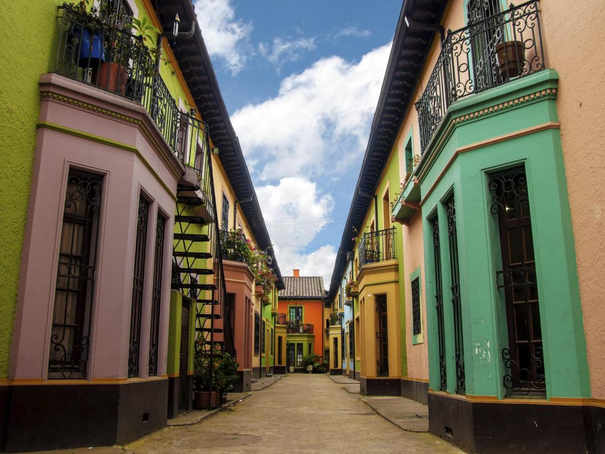Bogota has risen up the ranks recently as a fine dining destination