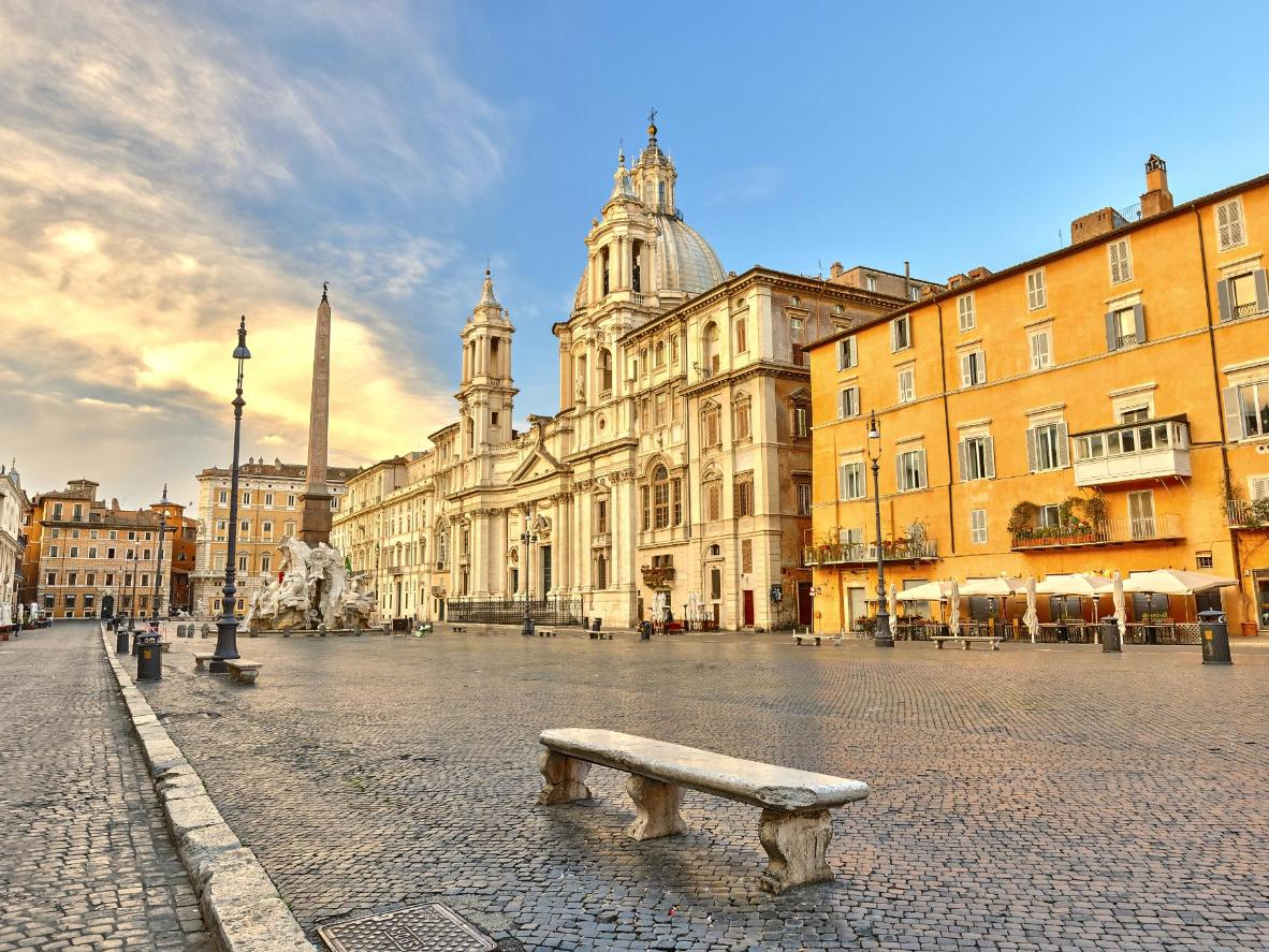 A big perk of visiting Rome in autumn is missing the stifling heat of summer