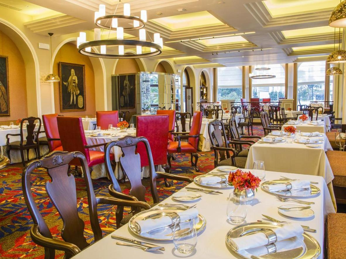 The ambience of Country Club Lima Hotel is as phenomenal as the dishes at the on-site restaurant
