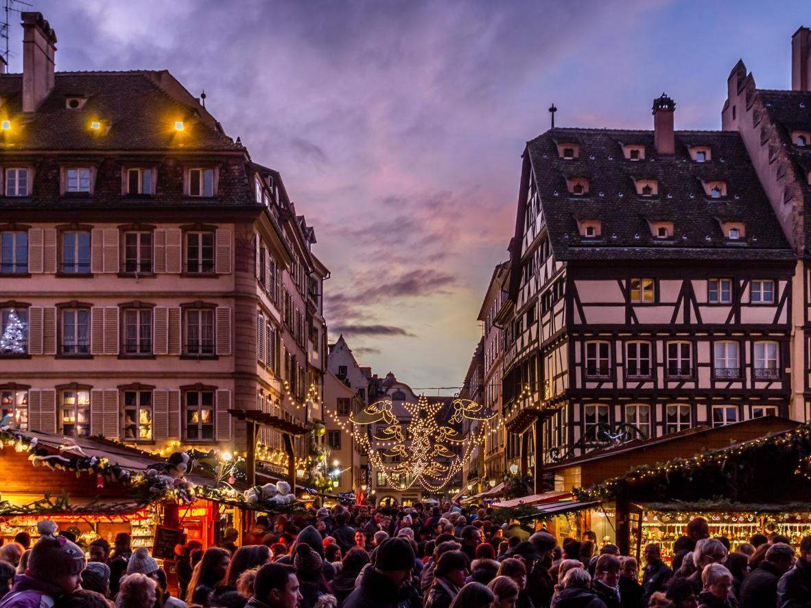 Strasbourg is home to Europe's oldest Christmas market