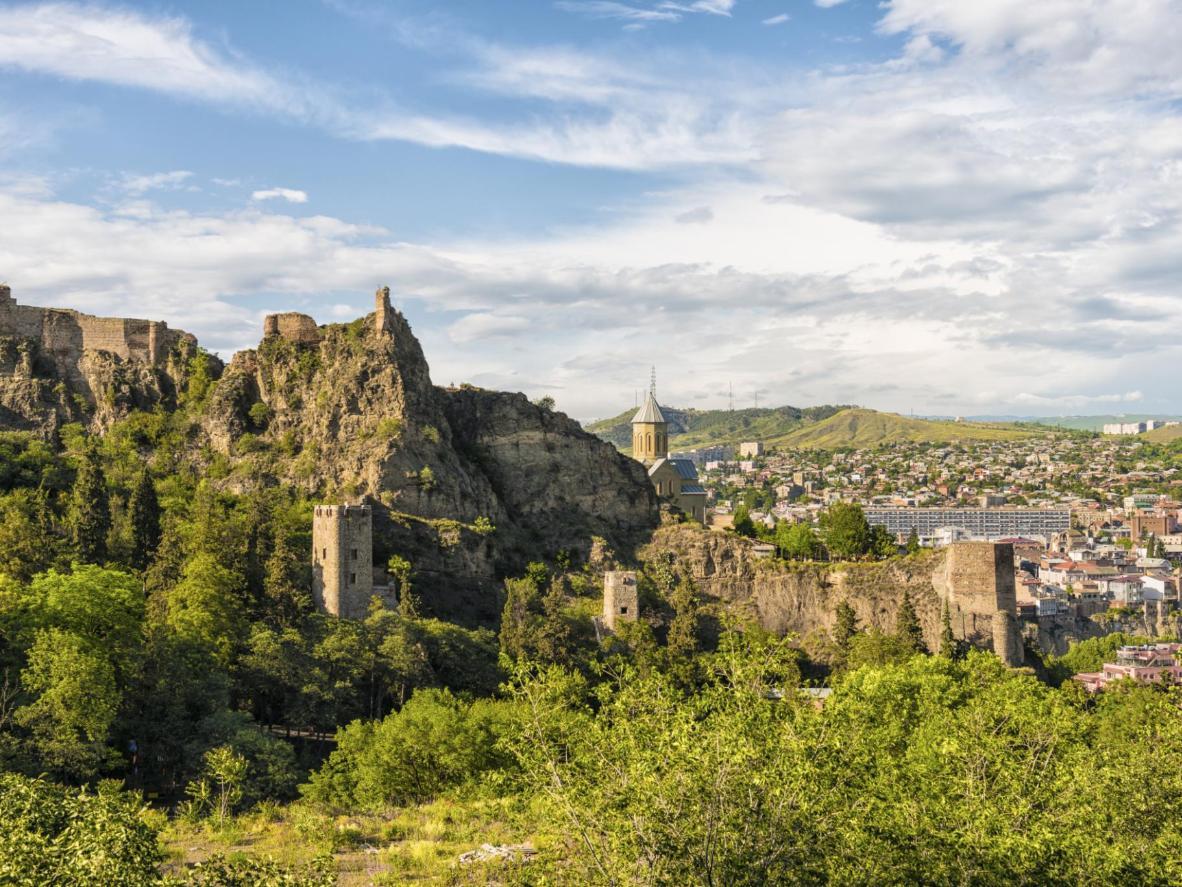 Los endosos de Tbilisi para la comida han aumentado dramáticamente en los últimos años.
