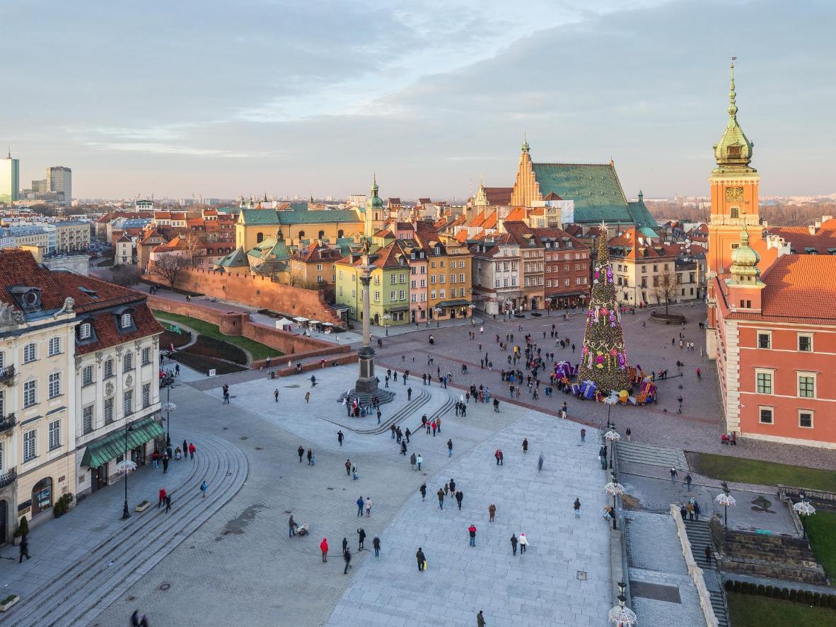 Los avales alimentarios de Varsovia han aumentado en los últimos años.