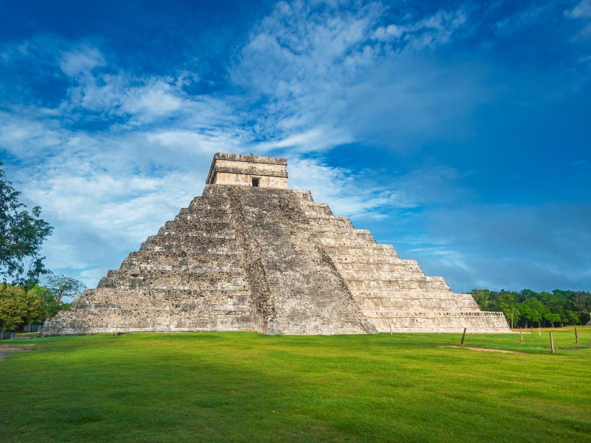 To avoid the crowds, start your day at the mind-blowingly sophisticated complex built by the ancient Mayans in Chichén Itzá