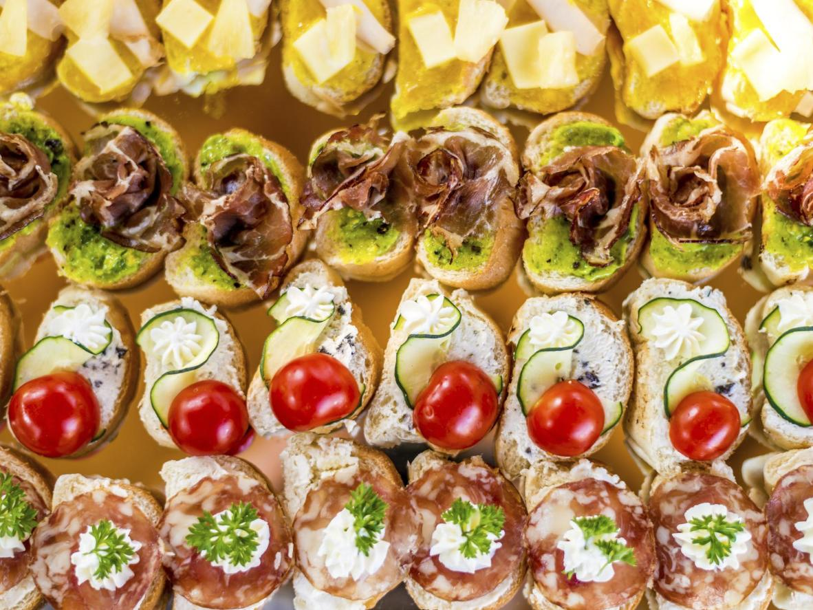 Venetian finger-food for pairing with fine wine