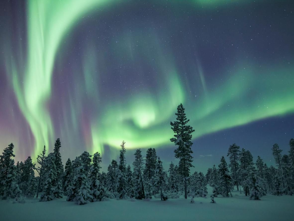 What could be more Instagram-worthy than the breathtaking northern lights?