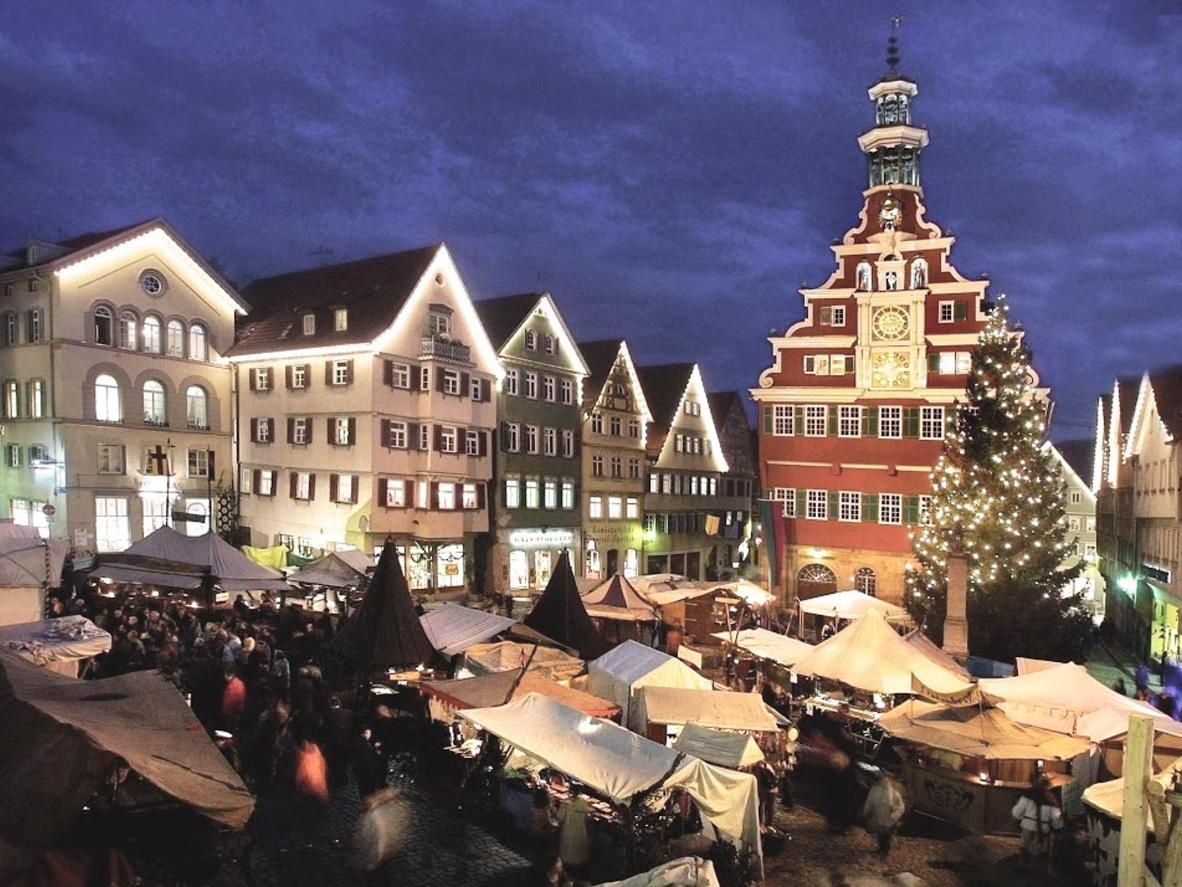 Take in the scent of freshly-baked bread while surrounded by half-timbered houses in Esslingen