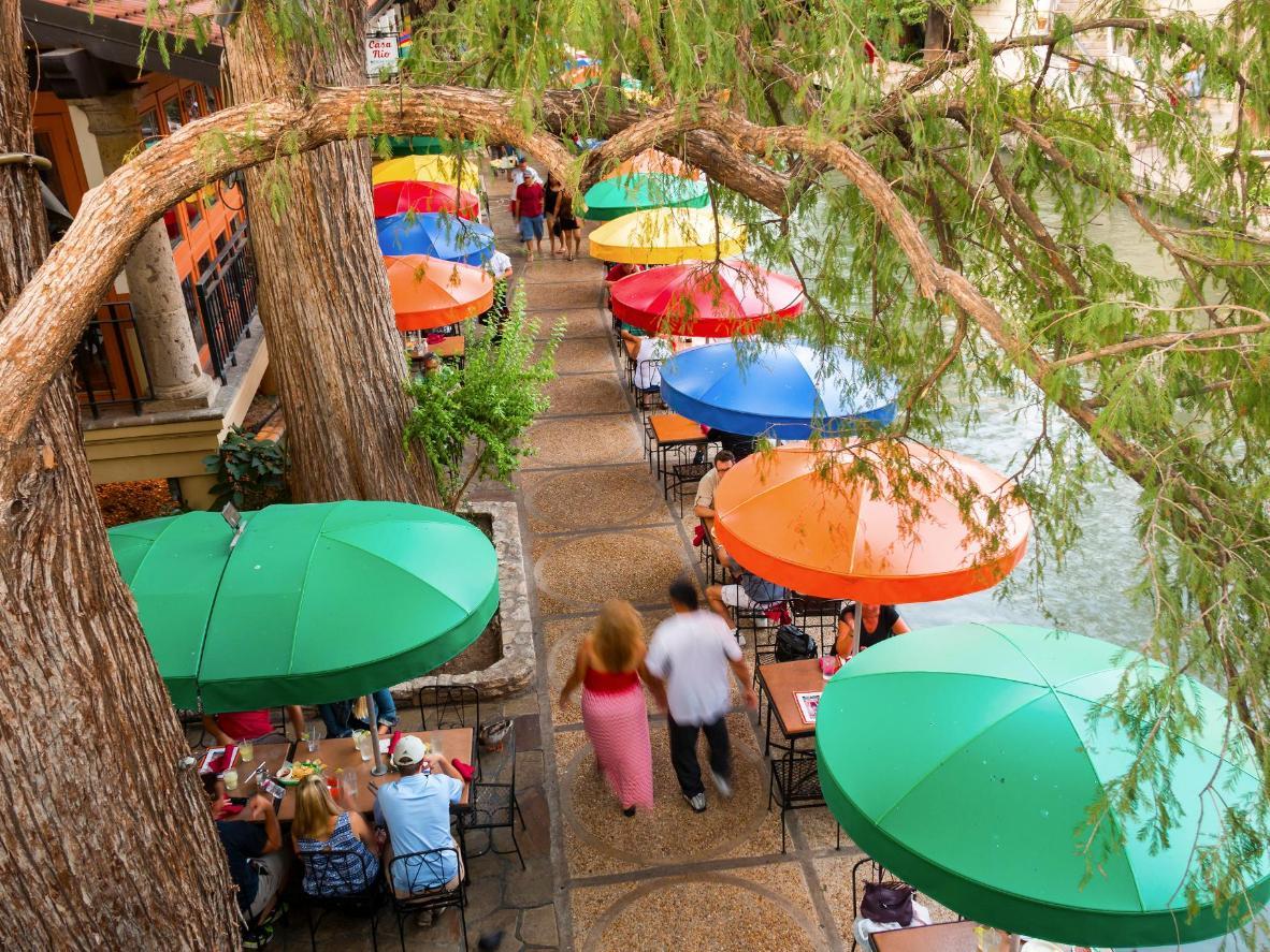America's most scenic river walk, San Antonio