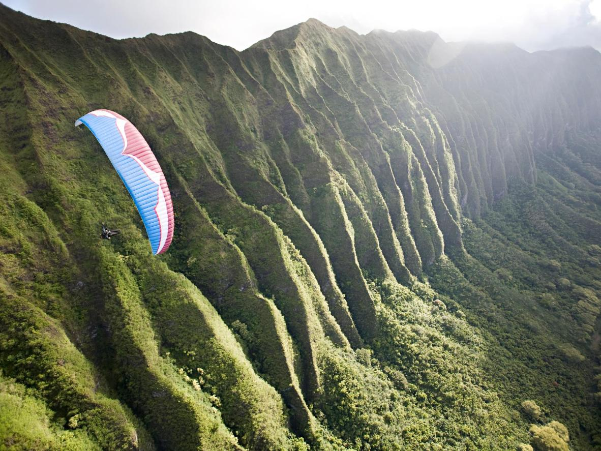 Jump out of a plane for the best view of Hawaii