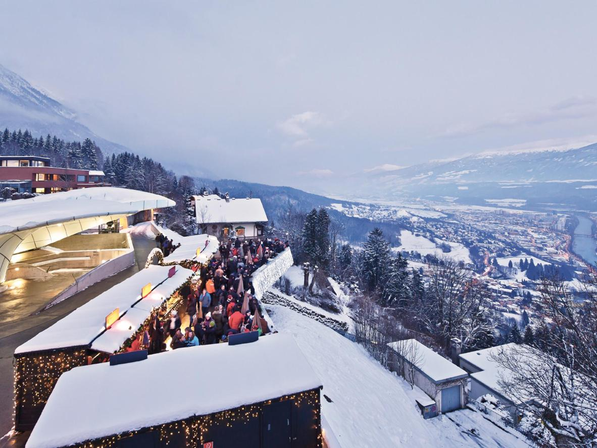 Mountain views and buckets of snow in the whimsical city of Innsbruck