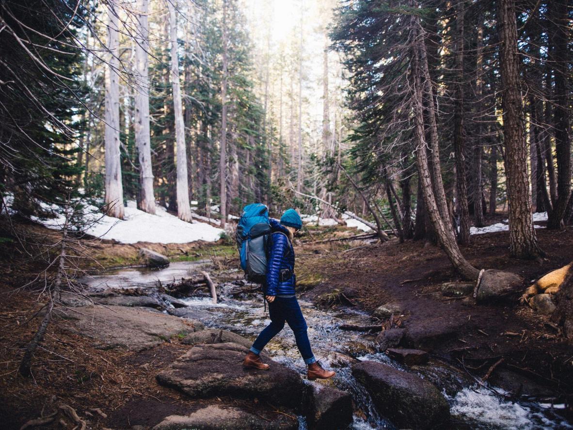The best way to get around Yosemite is on foot