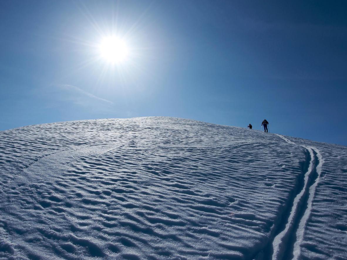 Flattach, Austria, boasts a dazzling snow record