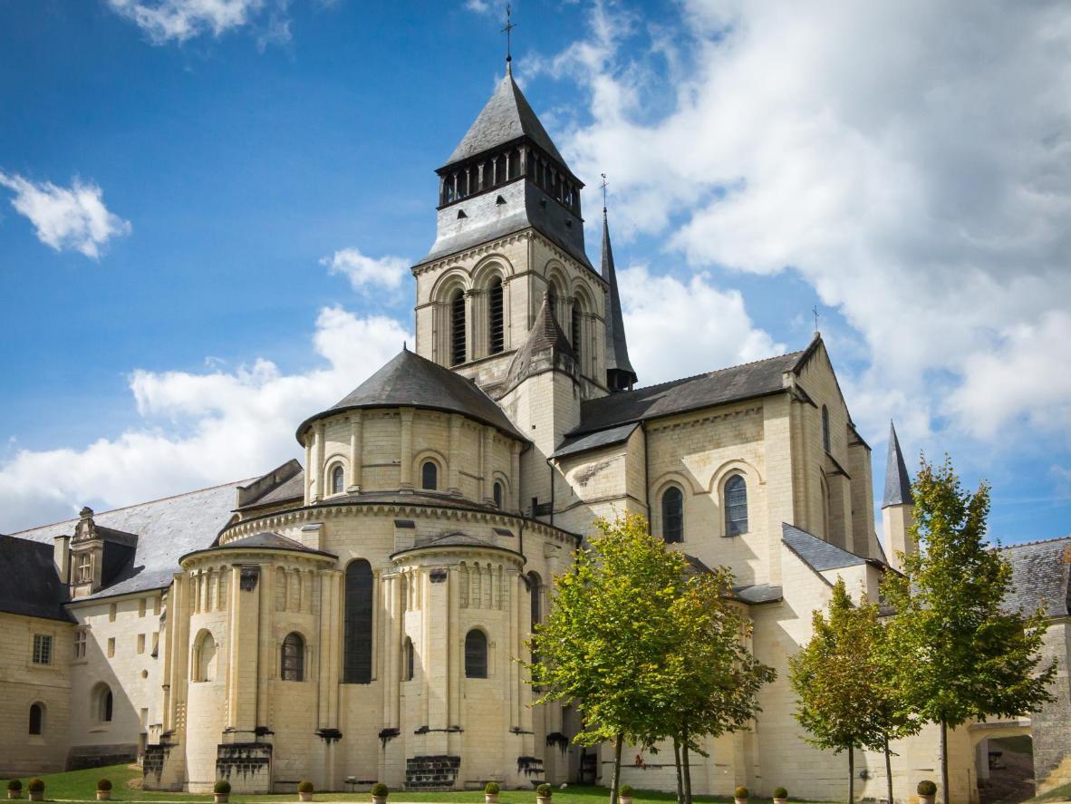 The humble, sacred village of Fontevraud L'Abbaye, France