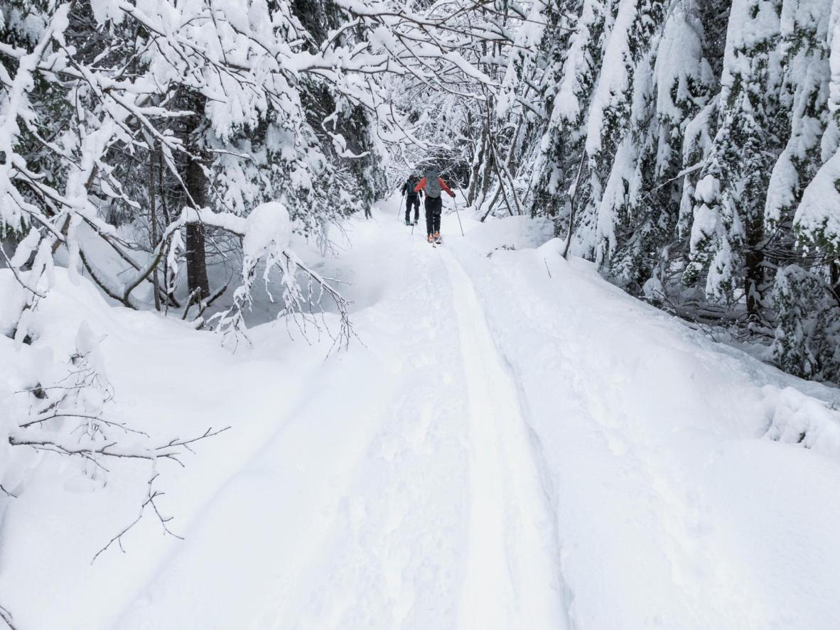 For the adventurous skiers, Åre has 210km of unmarked but groomed trails