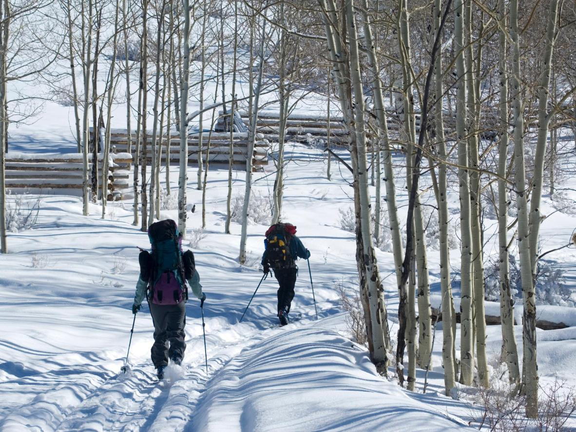 Aspen is home to one of the largest free, groomed cross-country systems in North America