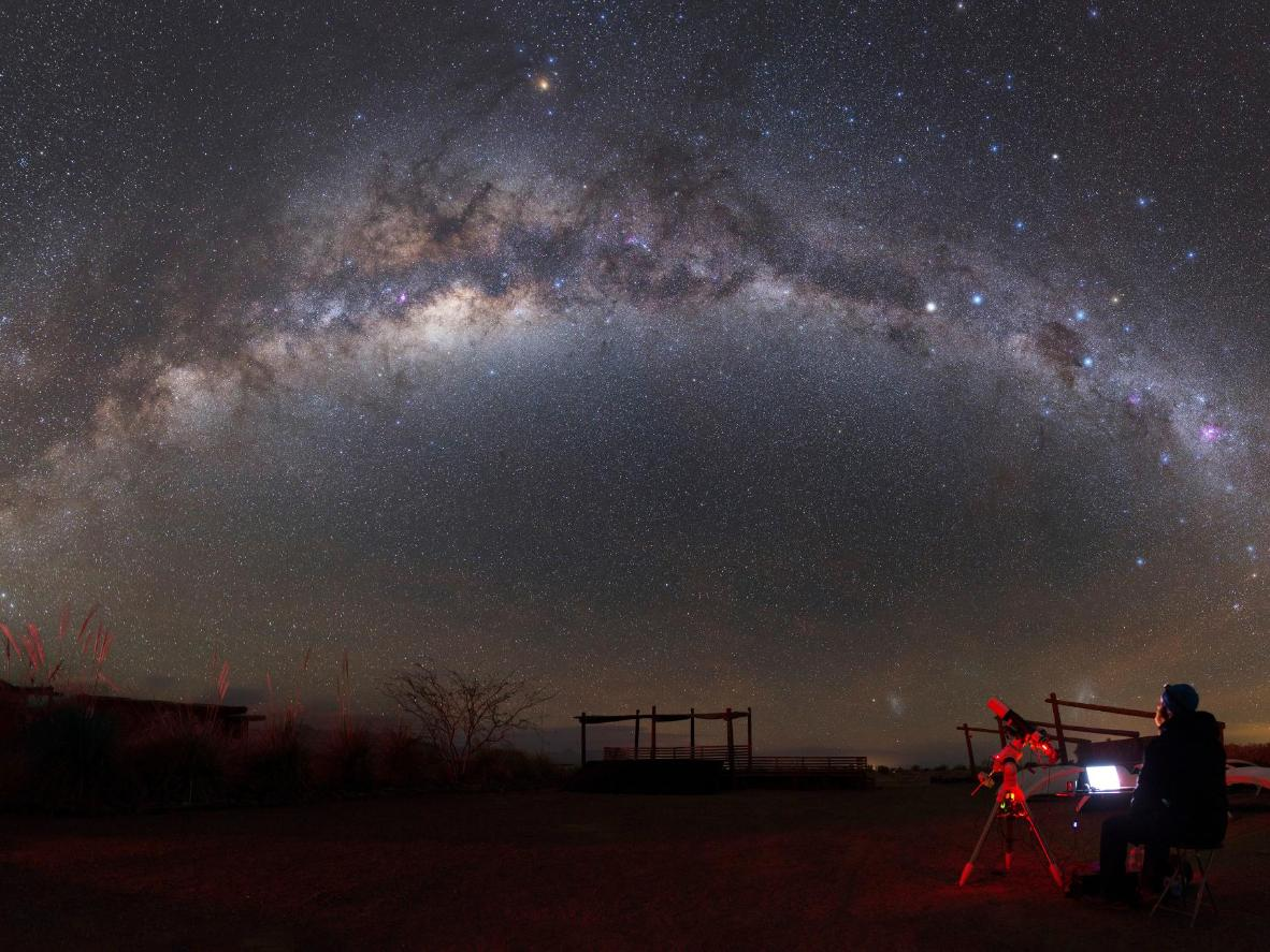 The unlikely stargazing spot of Sao Domingos Mine, Portugal