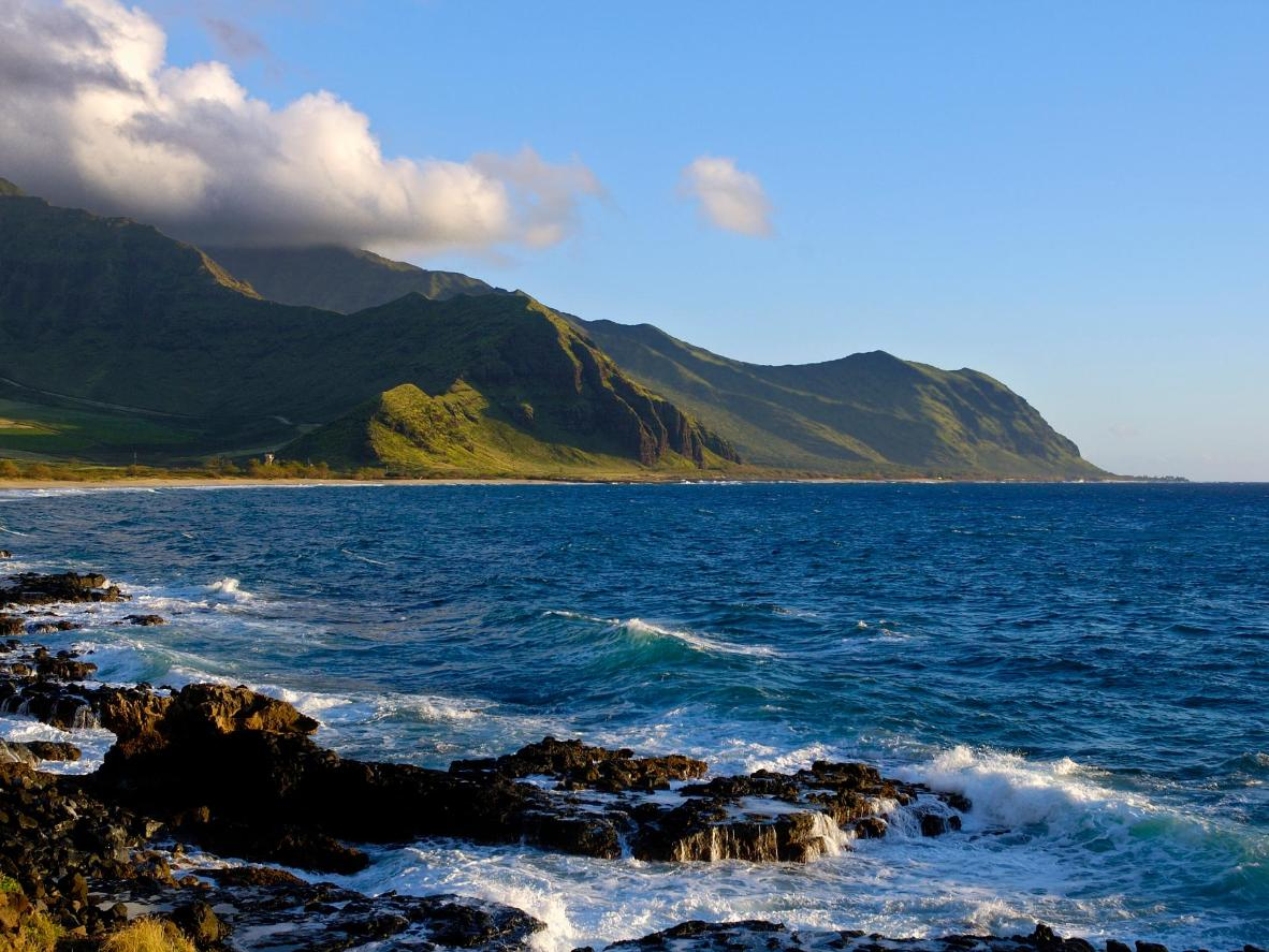 Though it's known for surfing, stunning Hawaii offers a plethora of active holidays