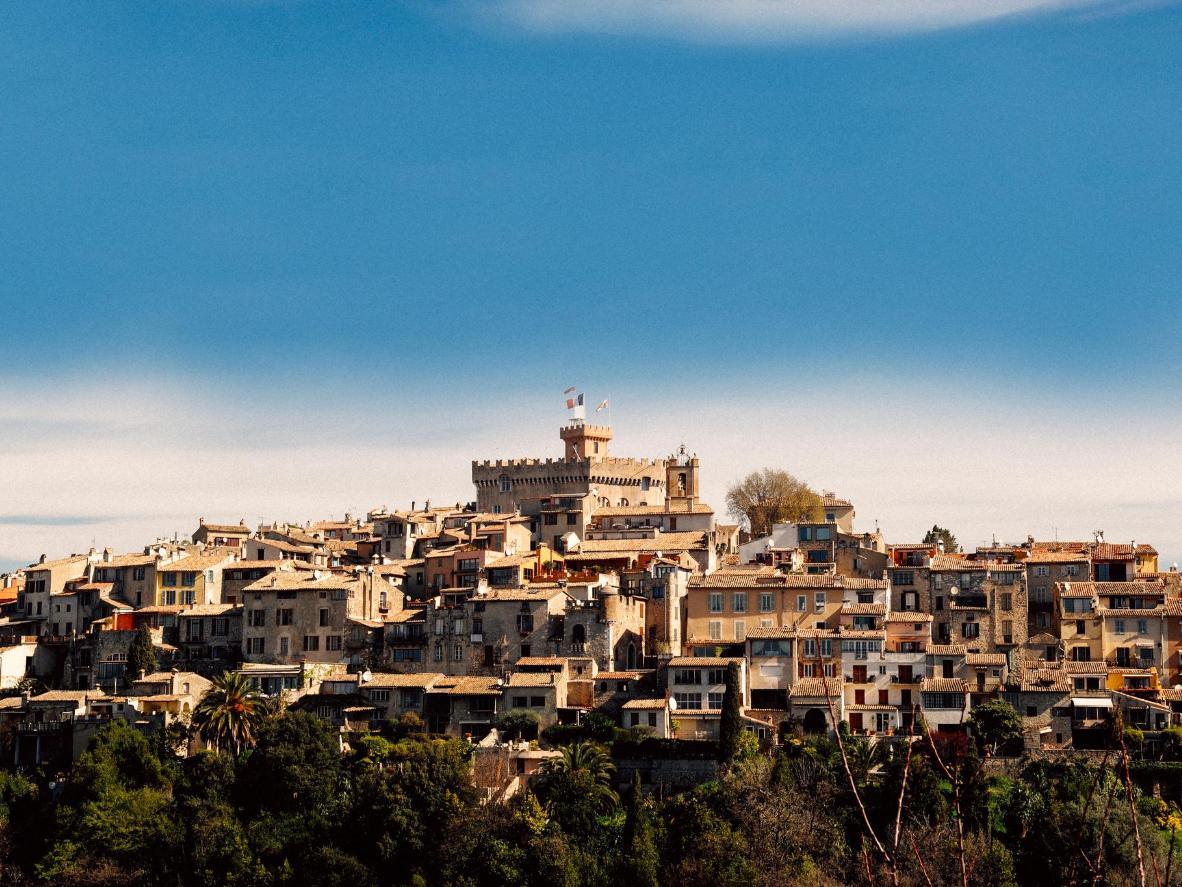 The charming and humble medieval Cagnes-sur-Mer, France