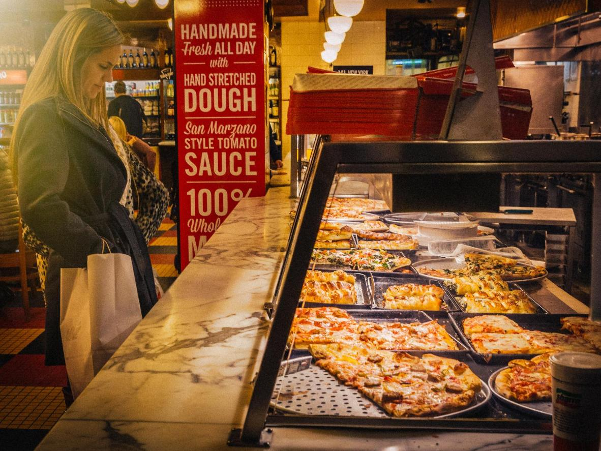 A NYC pizza joint is a rite of pizza-loving passage