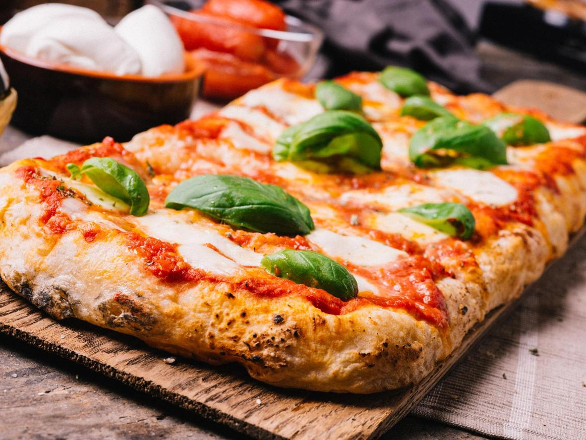 Sicilian pizza makes for a hearty, mouthwatering meal