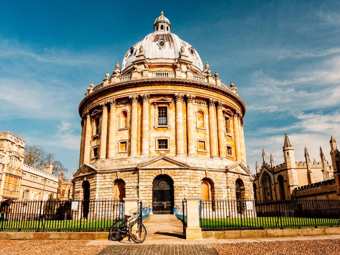 Bodleian library is one of Oxford's first purpose-built libraries