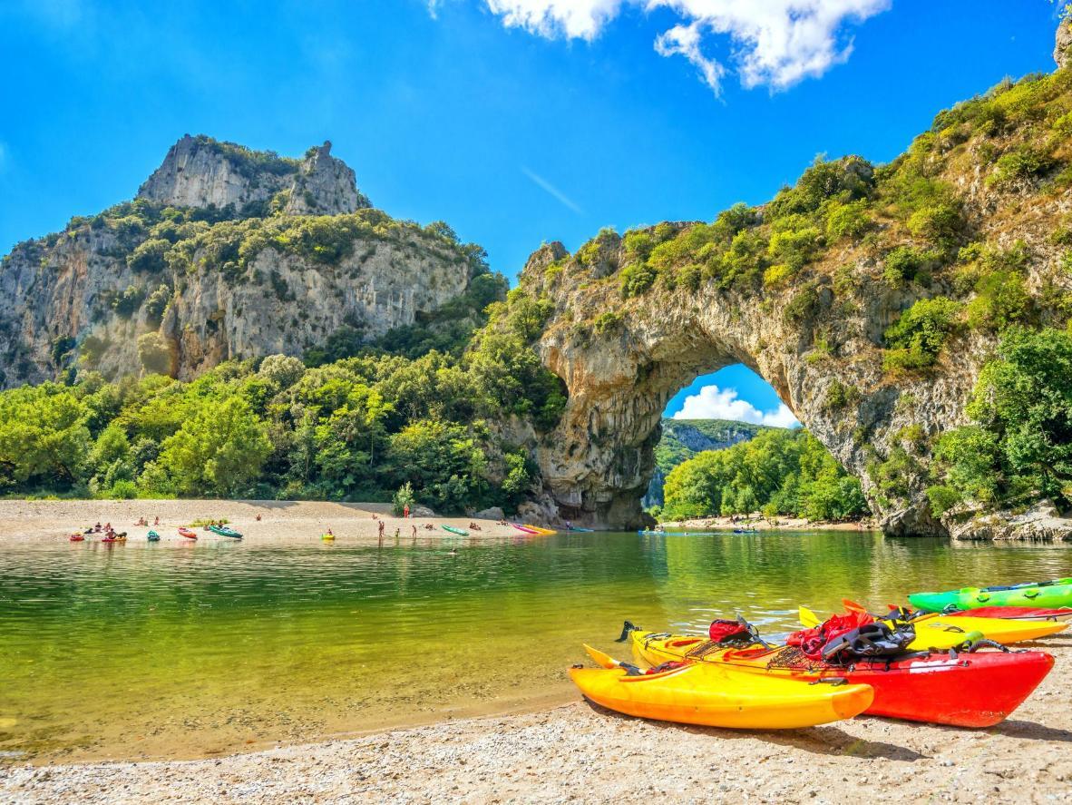 Vallon-Pont-d'Arc, Les Gorges de l'Ardèche