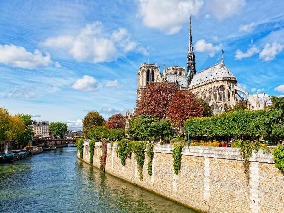The stunning array of colours and surprisingly warm weather are just two of the perks of Autumn in Paris