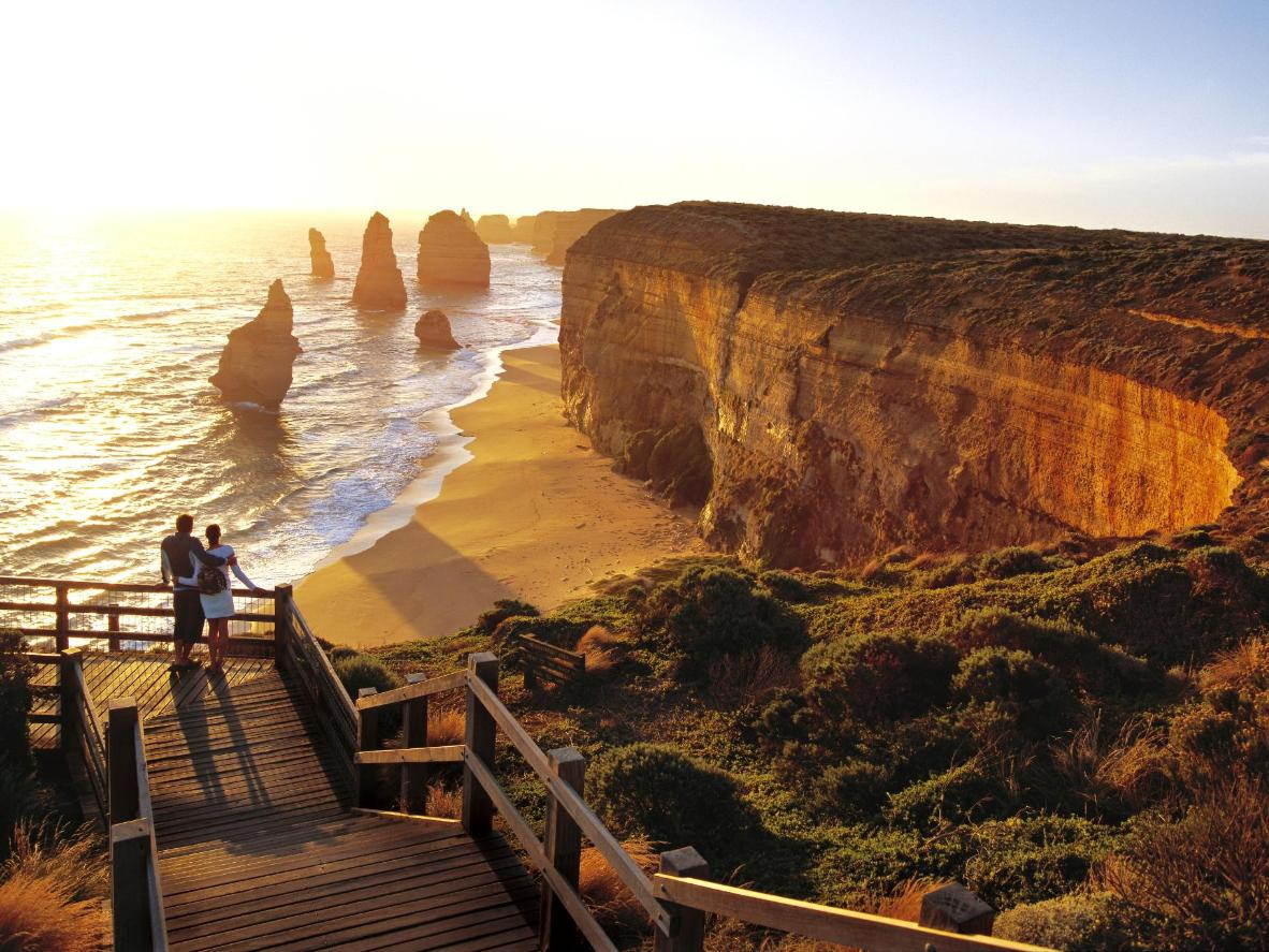 Sunset over the Twelve Apostles, Australia