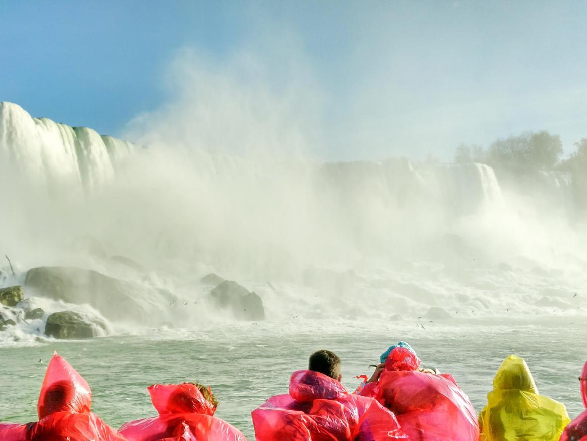 Take a special tour inside Niagara Falls