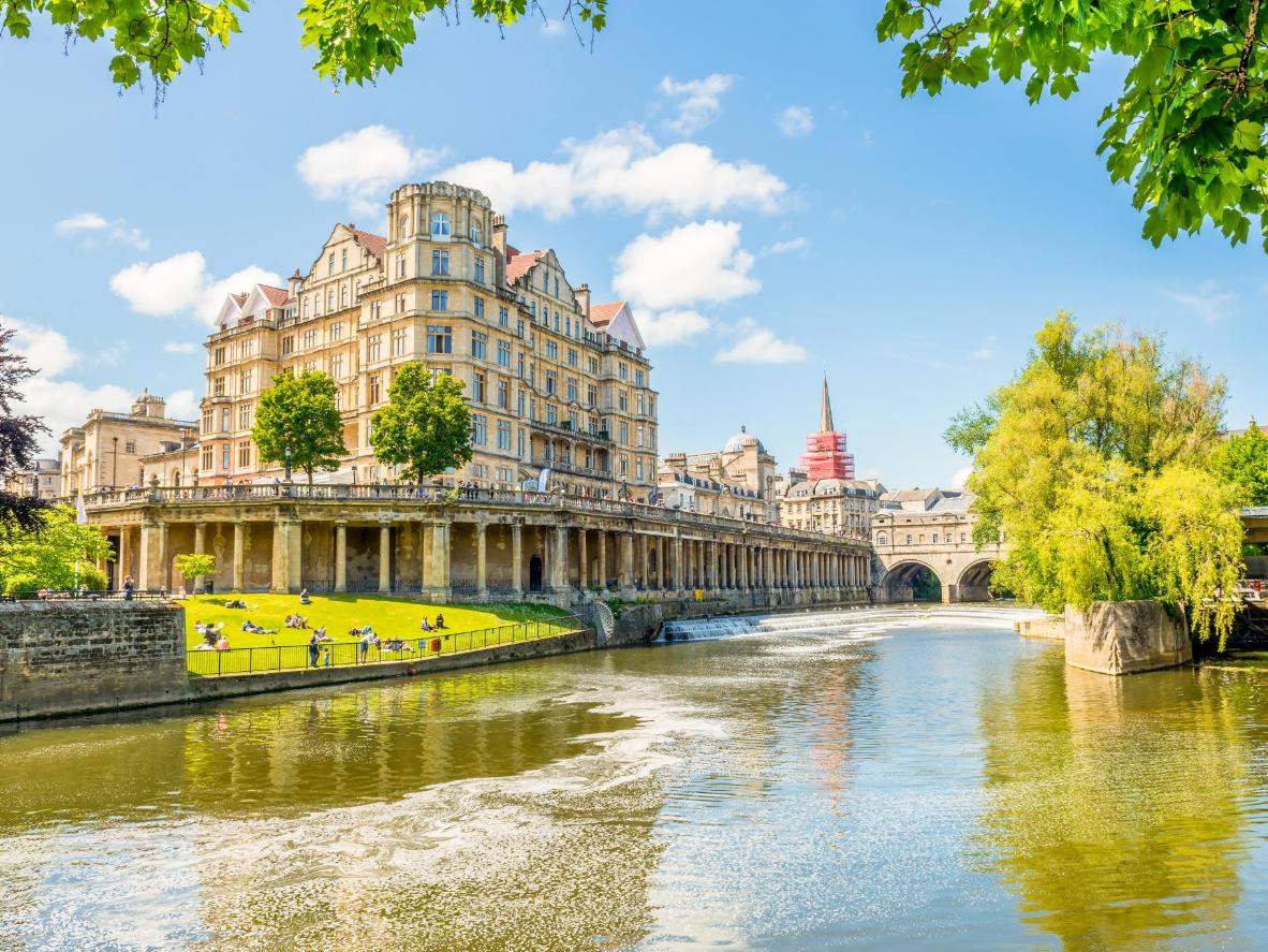The fascinating, historic city of Bath