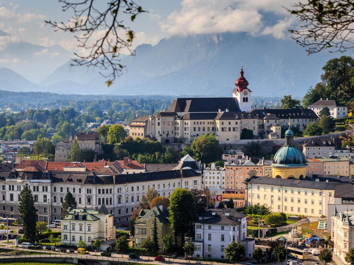 The Baroque streets of gorgeous Salzburg