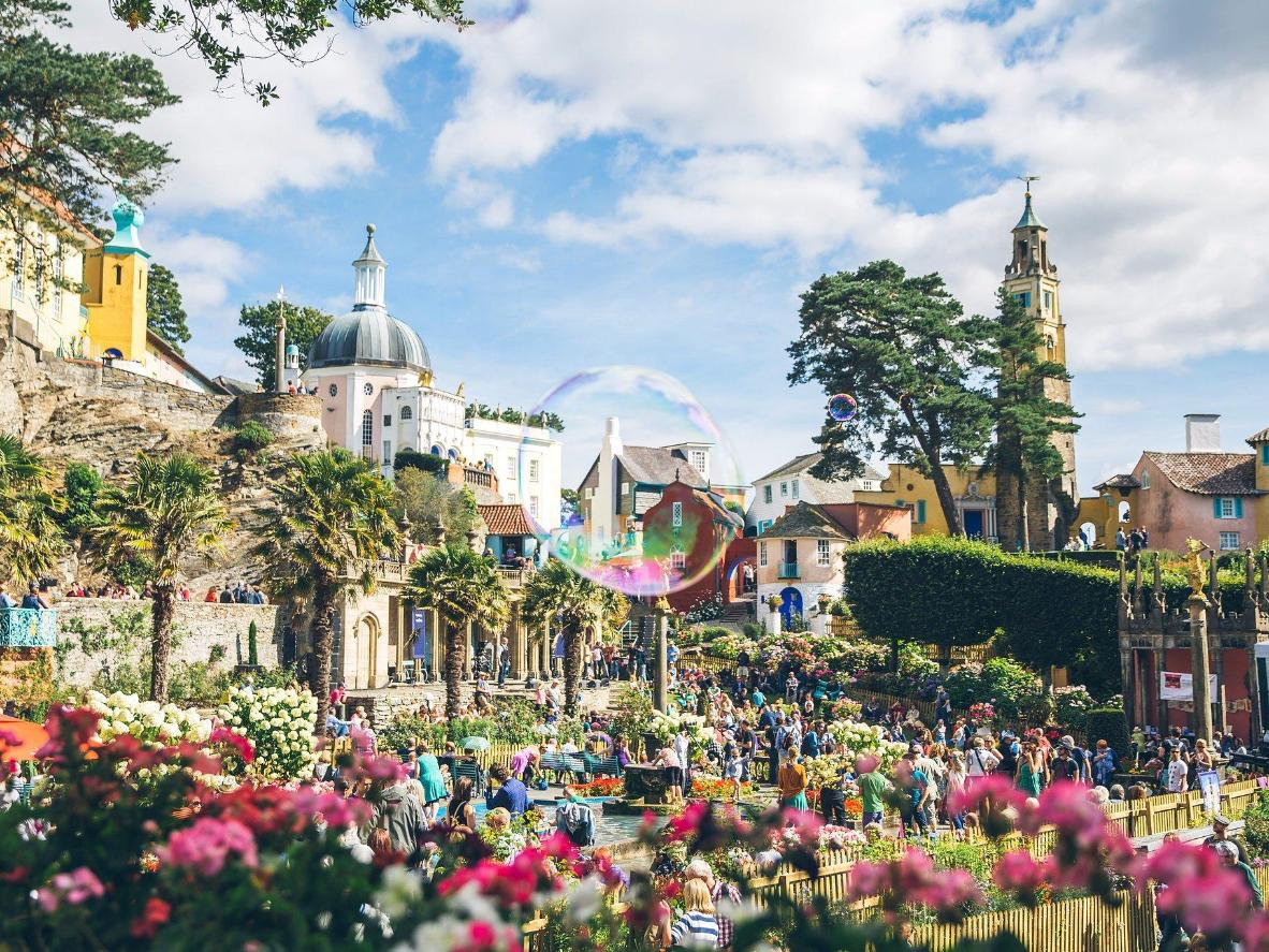 Festival n0. 6 is a riot of colour in Portmeirion, North Wales