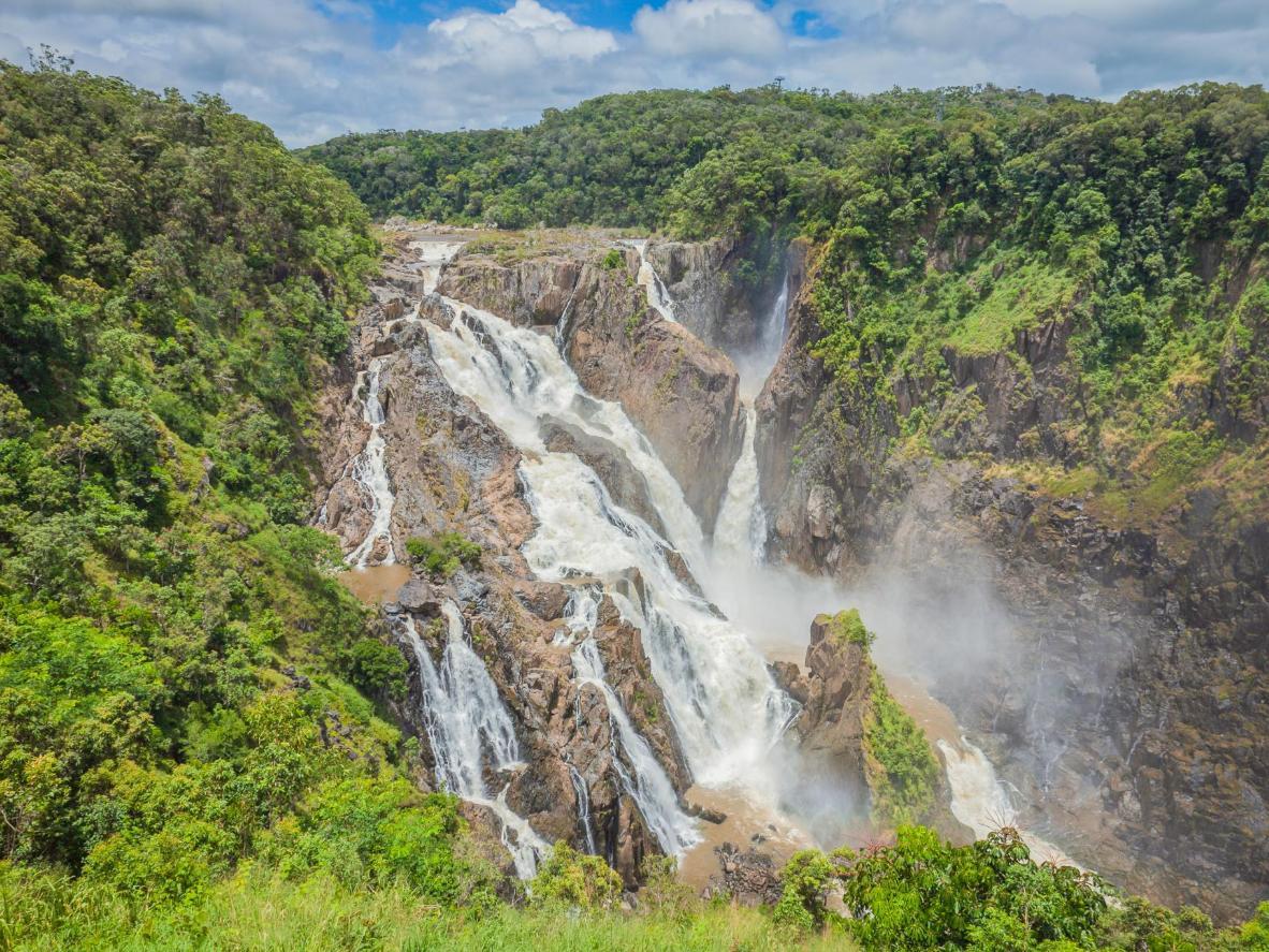 Barron Falls near the town of Kuranda
