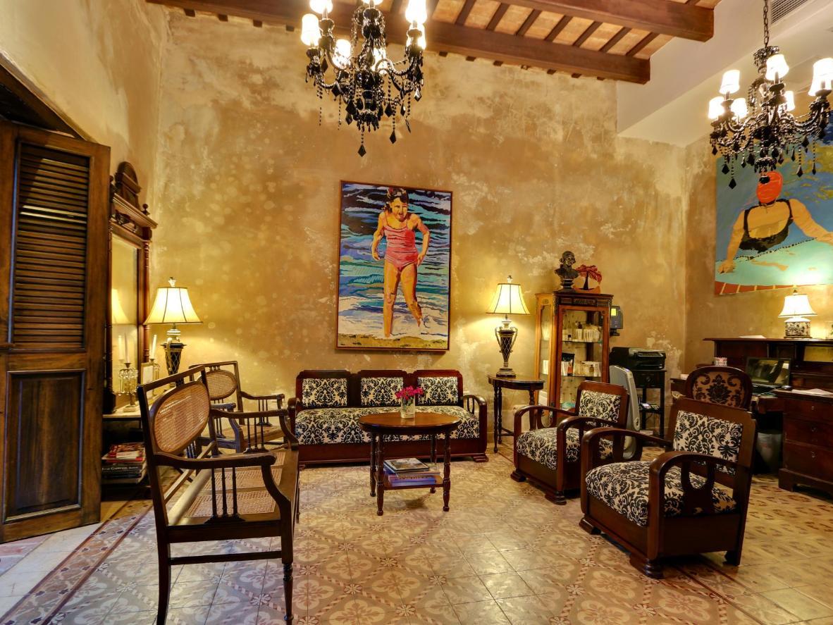 The restored Villa Herencia Hotel