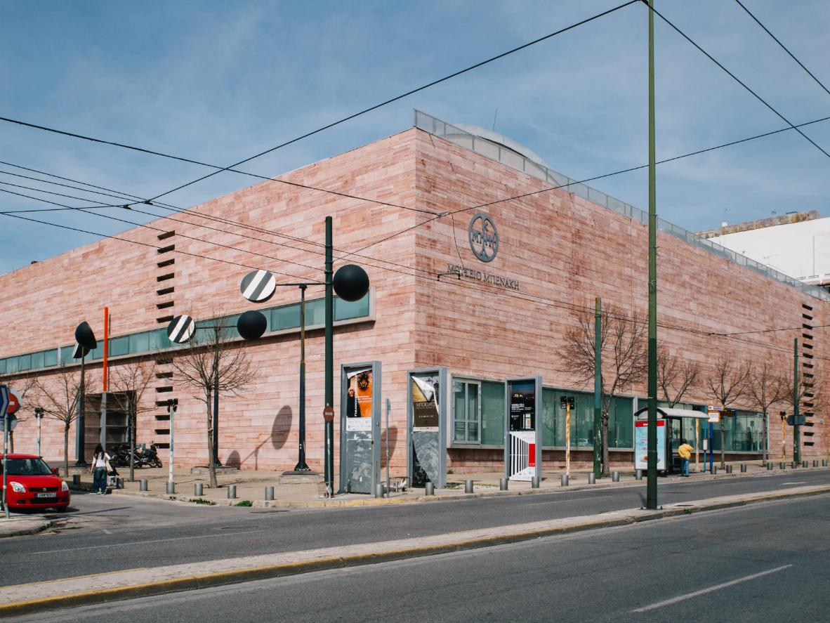 Here, a historic permanent collection contrasts with contemporary exhibitions