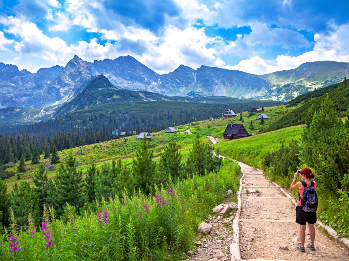 The Polish Tatra Mountains: easily traversed on foot and endlessly photogenic